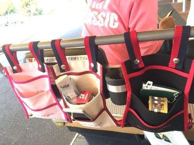 画像1: 【DECORE FOR GOLF デコレフォーゴルフ】 連結式 乗用カートバッグ(CART BAG) 3段ポケット プレゼント付