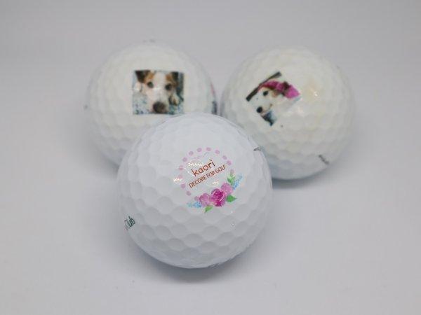 画像1: ゴルフボール印刷【ボール持ち込み】1ダーズより (1)
